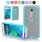 For Motorola Moto X Style Pure Edition Rugged Rubber Hard Protective Case Cover