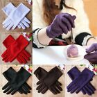 Stretch Satin Gloves Women Evening Party Wedding Formal Prom Gloves