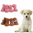 New Cute Winter Small Dog Pet Puppy Shoes Chihuahua Boots Snow shoes Size S-XXL