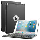 Aluminum Wireless Bluetooth Keyboard Smart Cover Case For iPad Air 1 /A1474/5/6