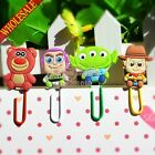 100pcs Toy Story DIY Bookmarks For Book Holder,Paper clips,School Office Supply