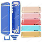 Metal Back Battery Housing Door Cover For Iphone 5 5S Replace to Iphone 6 mini