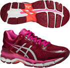 Asics Gel Kayano 22 Ladies Running Shoes - Red