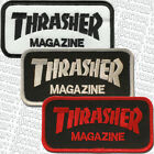 THRASHER à repasser/Cousu sur Skateboard Patch Bloc Logo Assortiment de couleurs