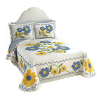 Collections Etc Daisy Chenille Floral Bedspread