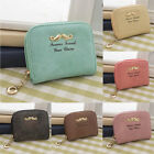 Fashion Women Matte Leather Short Purse Lady Clutch Wallet Bag Handbag 1Pcs LAS