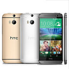 New HTC One M8 (Android Model) 16GB (Factory Unlocked) Phone GREAT Gold Silver