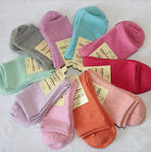New Woman's  Autumn and winter warm cotton socks Candy color