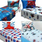 Spiderman Boys Bedding Or Wall Decals - Bed-In-A-Bag Or Wall Stickers PICK ITEM
