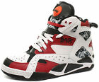 New Reebok Blacktop Battleground (White/Black/Red) Men's Shoes V56089 ALL SIZES