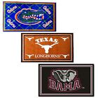 NCAA College Logo 4x6 Area Rugs - Sports Team Carpet Bedroom Mat Home Decoration