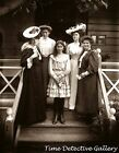 Edwardian Ladies Posed on a Porch - Historic Photo Print