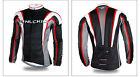Winter Fit Bike Race Thermal Fleece Wear Long Sleeve Men's Cycling Jersey Jacket