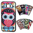 Shockproof cute big eye owl fashional TPU Case Cover Skin For Samsung Galaxy E5