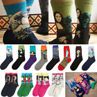 Funny Socks Mural Art Casual Socks Men Graffiti Unisex Socks Paintings Socks