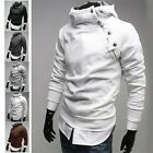 Mens' Long Sleeve Hoodie Hooded Sweatshirt Sweater Tops Jacket Coat Outwear