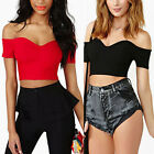 WB1 Sexy Women Summer Strapless Crop Top Tees Short Shirt Tank Tops Clubwear CA1