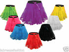 HALLOWEEN XMAS HEN NIGHT SKIRT 18 INCH TUTU FISHNET FANCY DRESS COSTUME OUTFIT