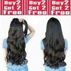 28 inch clip in hair extensions One piece 5 Clips feels real light blonde