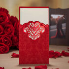Wedding Invitation Cards with Envelopes+Custom Personalized Printing 3 Colours