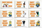 Despicable Me Minions Kids Personalised Pillow Case Childrens Bedroom Characters