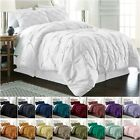 Chezmoi Collection Berlin Pinch Pleat Pintuck Bedding Comforter Set All Sizes image
