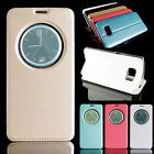 Luxury New Ultra-thin Smart Flip Leather Stand Protection Cover Case For Samsung