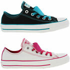 New Converse All Star Ox Double Tongue Womens Trainers Size UK 4-8
