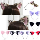 Cat Fox Ears Long Fur Headband Anime Cosplay Party Costume Halloween Orecchiette