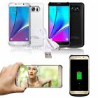 8000mAh External Backup Battery Power Bank Case Cover For Samsung Galaxy Note 5