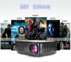 3D 1080P 3500 Lumens Projector Home Theater Cinema LED LCD HDMI VGA AV TV VGA HD