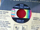 BRENDA LEE~EVERYBODY LOVES ME BUT YOU~MINTY~HERE COMES THAT FEELIN~TITLE~ POP 45