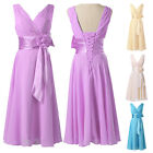 Formal Evening Prom Party Dress Bridesmaid Masquerade Ball Gown Short Grad Dress