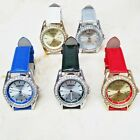 GIFT SET MANHATTAN BY CROTON SET OF 5 CRYSTAL BEZEL WOMENS WATCHES HSN $79.95
