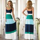 Sexy Womens Sleeveless Boho Long Maxi Evening Party Dress Beach Dresses Sundress