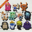 11-100PCS New Adventure Time PVC Shoe Charms for jibz,Shoe Accessories Kids Gift
