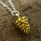 1pc Simple New Fashion Jewelry Pine Cone Pendant Charms Choker Collar Necklace