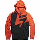 SHIFT MX BLOOD ORANGE FRACTION FRONT ZIP UP HOODY HOODIE SWEATSHIRT GUYS ADULT