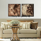 Framed Modern Home Decor HD Print Animal oil painting canvas Wall Art Horse T07