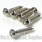 Chrome dome screws 2.5mm x 15mm guitar project self tapping 6,20, 50 or 100