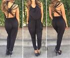 AU SELLER Sexy Punk Hippy Backless Overall Jumpsuit Hippie Cocktail Pants ju006