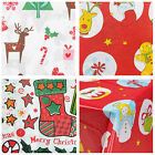Disposable Christmas Tablecloth Festive Rectangle Oblong Table Cloth Tableware