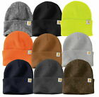 Carhartt Men's Beanie Warm Soft Winter Acrylic Knit Snow Wetzel Watch Hat, Black