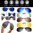 7 Colors New Men/Women Round Polarized Lens Clip-on SunGlasses Driving Travel