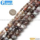 "Natural Botswana Agate Gemstone Faceted Round Beads Free Shipping 15""4mm 6mm 8mm"