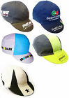 RETRO VINTAGE STYLE CYCLING TEAM BIKE CYCLE CAPS - Fixed Gear - Made in Italy