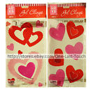*LOVE Reusable & Washable GEL CLINGS Home Decoration VALENTINES DAY *YOU CHOOSE*