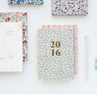 2016 Fabric Warm Breeze Blow Planner Scheduler Journal Agenda Notebook Organizer