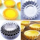 Hot! 1/10/20/50pcs Tart Aluminium Cupcake Cake Egg Pan Tins Baking Mold 5 Sizes