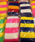 Professional Striped Clown Socks Theatrical Costume multiple colors available